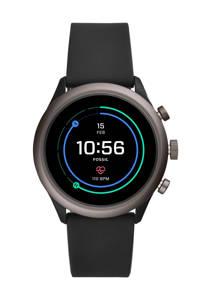 Fossil Sport heren display smartwatch FTW4019, Zwart