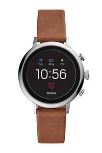 Fossil Venture Gen 4 display smartwatch FTW6014, Bruin/zilver