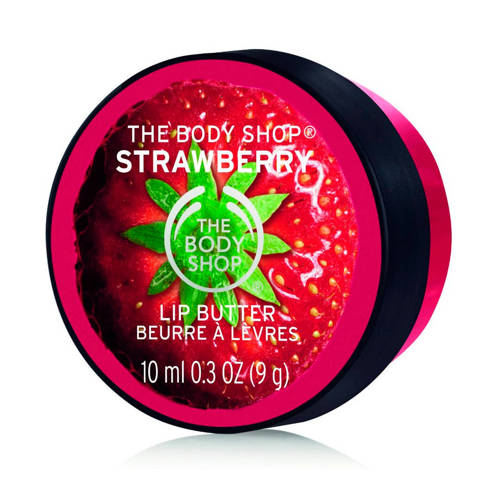 The Bodyshop Strawberry lip butter