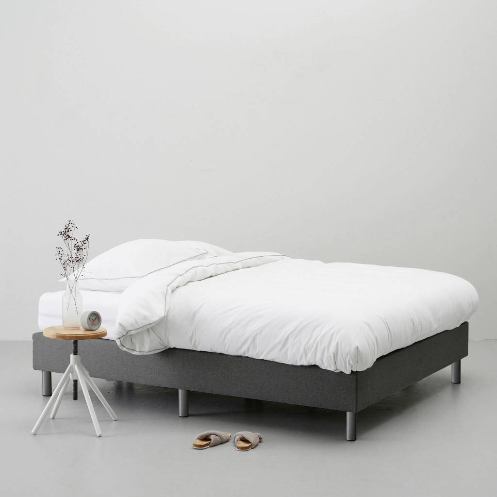 whkmp's own complete boxspring Nybo (120x200 cm), Grijs