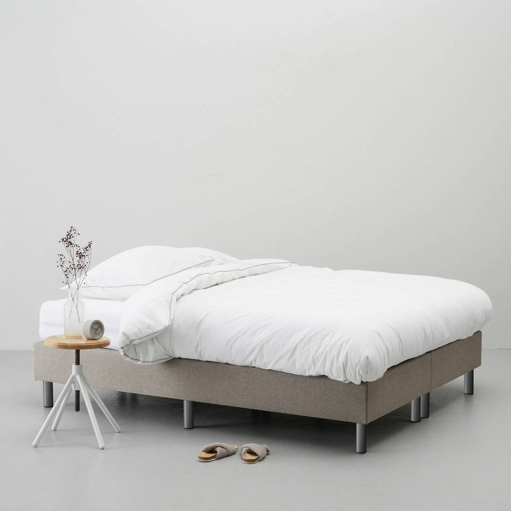 whkmp's own complete boxspring Nybo (180x200 cm), Taupe