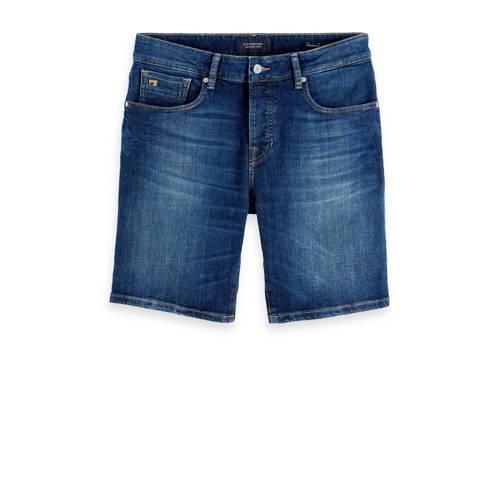Scotch & Soda Amsterdams Blauw jeans short