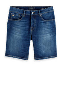 Scotch & Soda Amsterdams Blauw jeans short, Donkerblauw