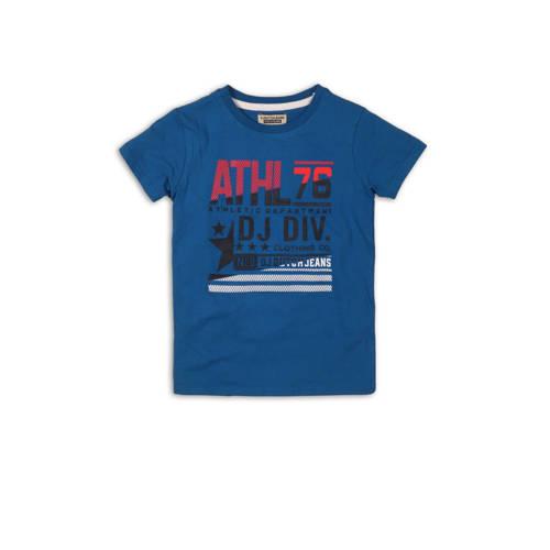 DJ Dutchjeans T-shirt met printopdruk blauw/zwart/
