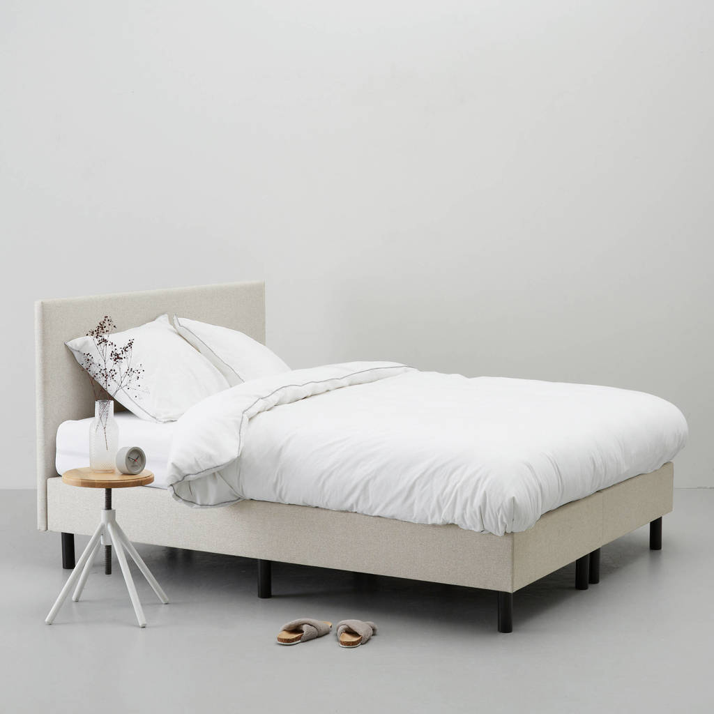 whkmp's own complete boxspring Vancouver (160x200 cm), Zand