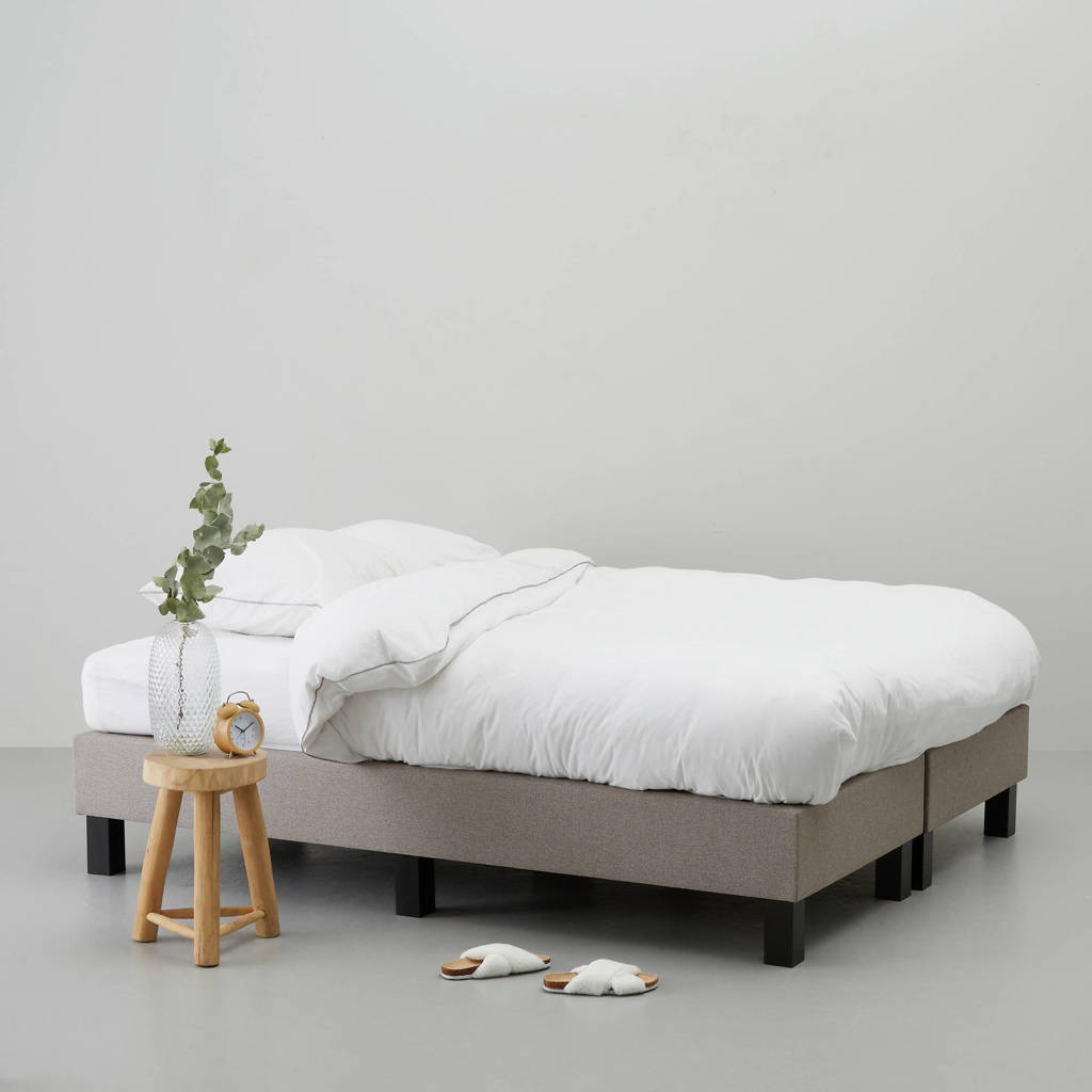whkmp's own complete boxspring Calgary (140x200 cm), Taupe