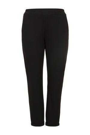 Plus slim fit broek zwart