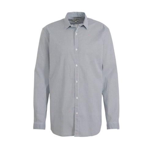 Tom Tailor regular fit overhemd met all over print