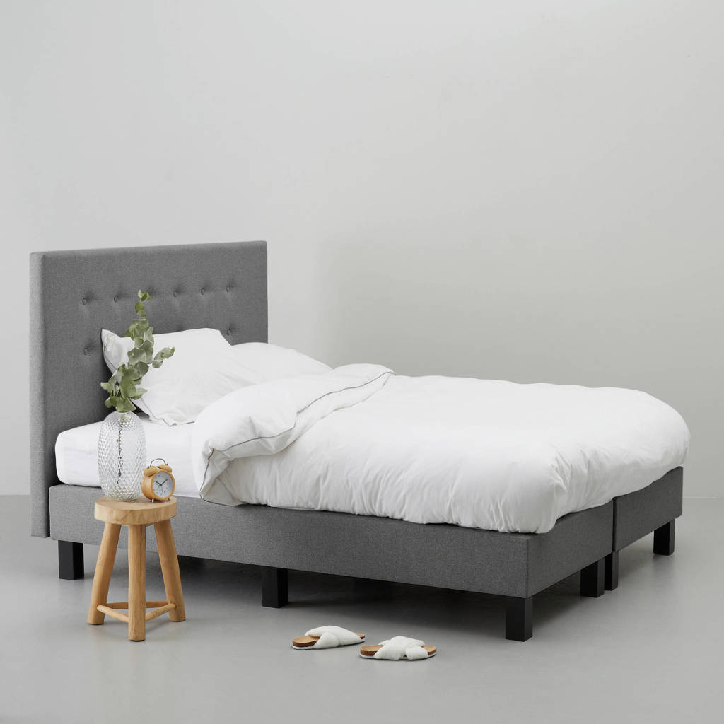 whkmp's own complete boxspring  (180x200 cm), Grijs