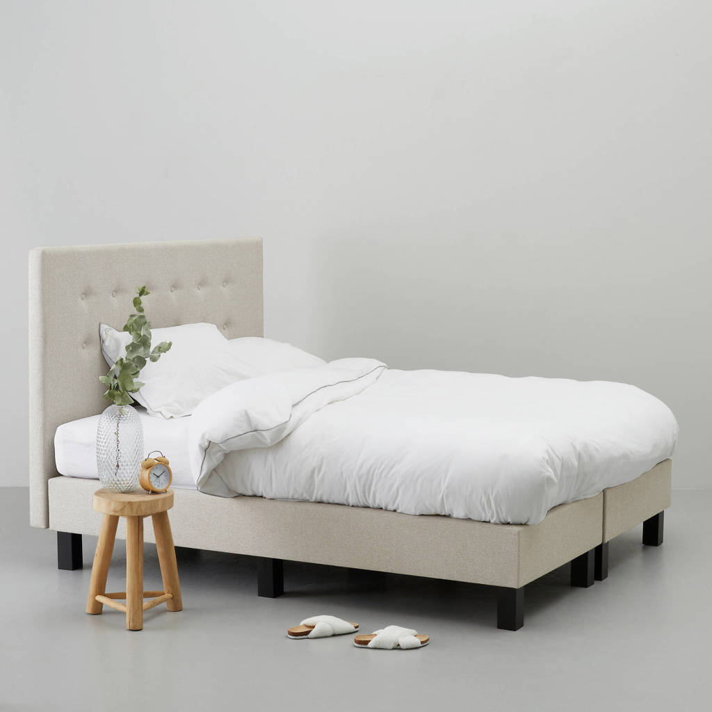 whkmp's own complete boxspring Quebec (140x200 cm), Zand