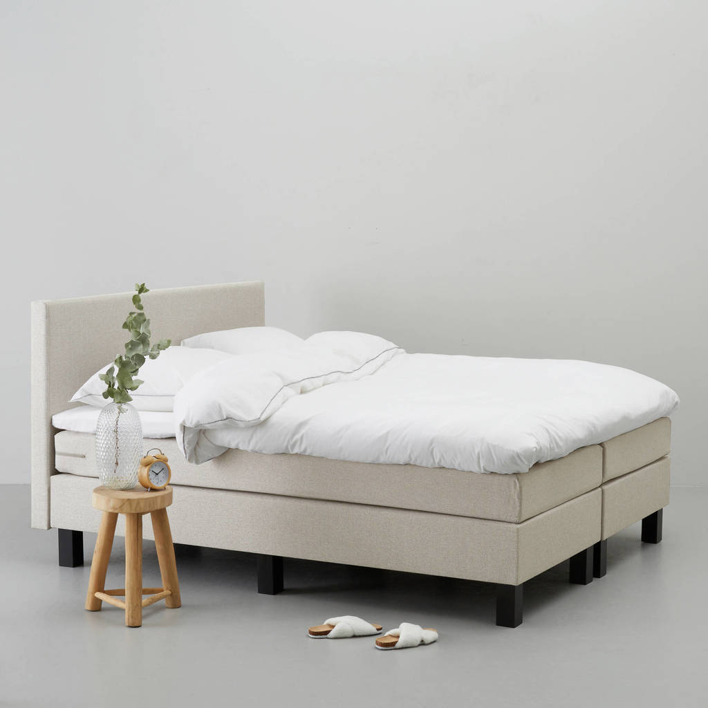 whkmp's own complete boxspring Seattle (160x210 cm), Zand