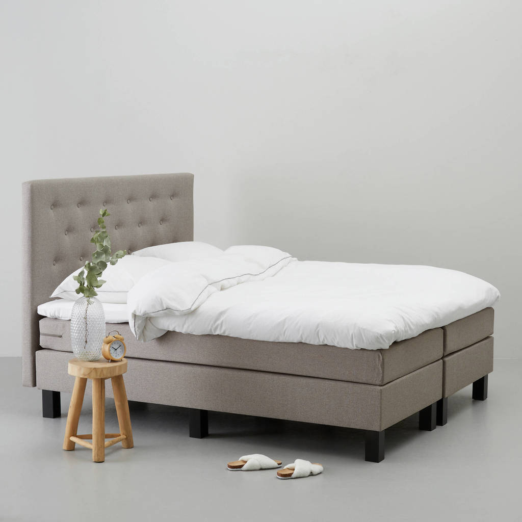 whkmp's own complete boxspring Richmond (180x210 cm), Taupe