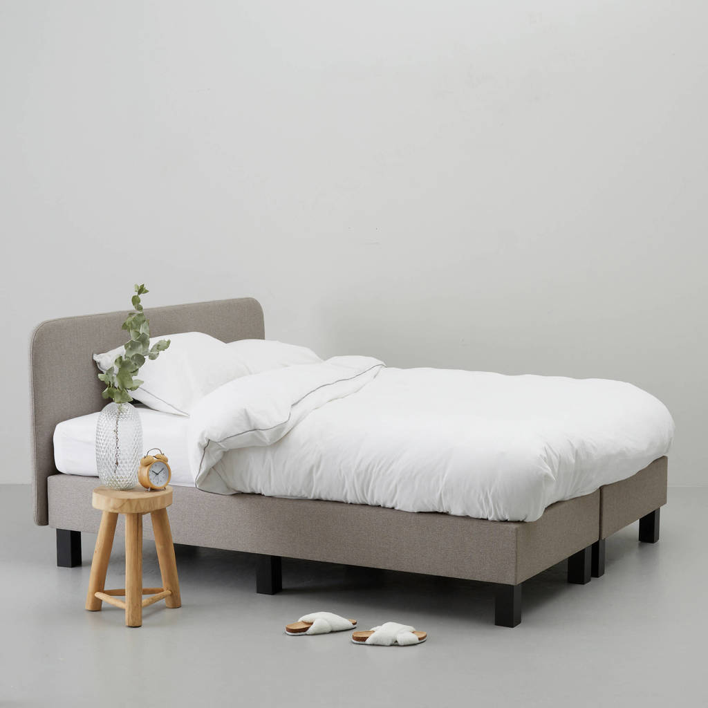 whkmp's own complete boxspring Surrey (140x200 cm), Taupe