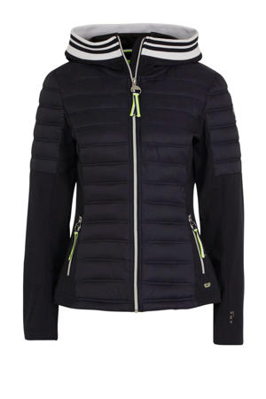 Ane outdoor jas donkerblauw