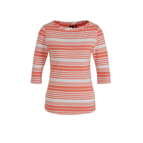 Luhta Askola T-shirt roze/wit