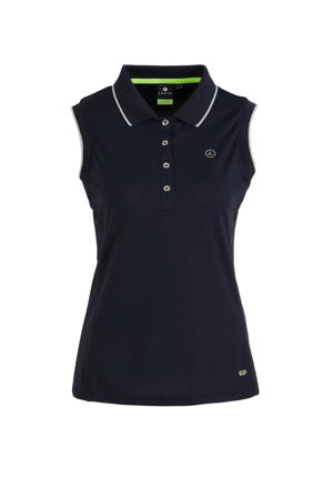 outdoor polo donkerblauw