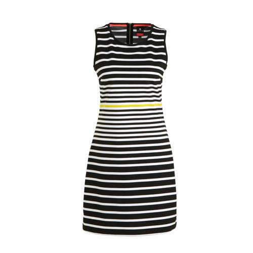 Luhta jurk Aulanko zwart/wit