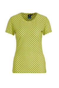 Luhta sport T-shirt geel, Geel