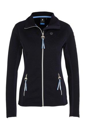 outdoor vest Annula donkerblauw