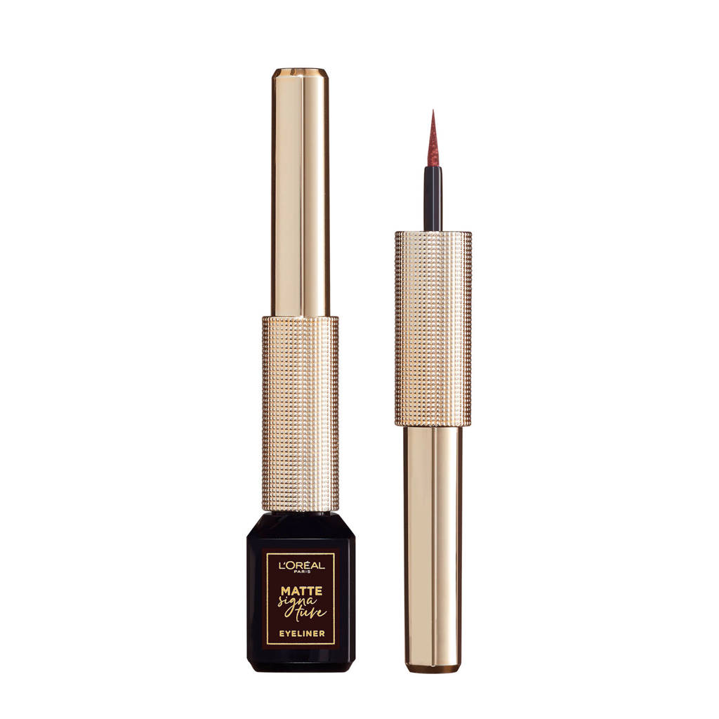 L'Oréal Paris Matte Signature Eyeliner - 03 Brown