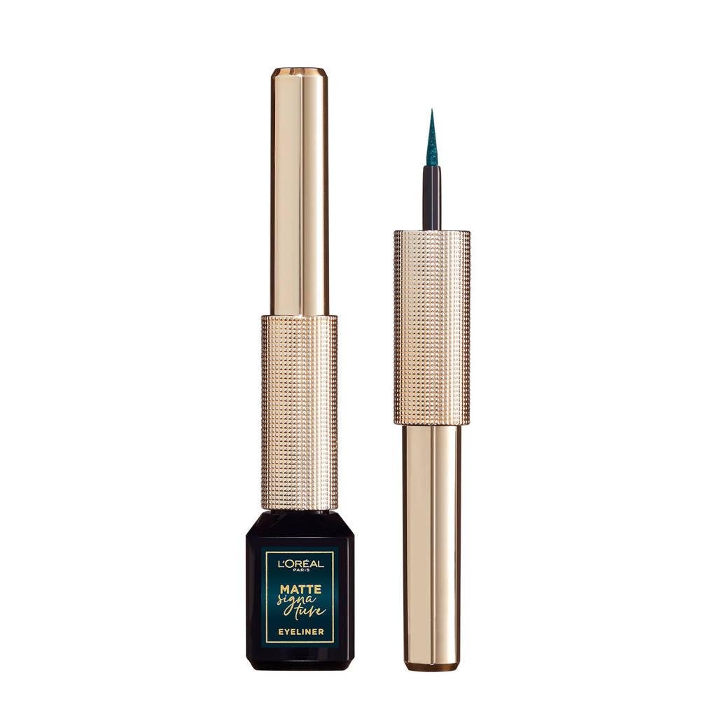 L'Oréal Paris Matte Signature Eyeliner -  04 Emeraude