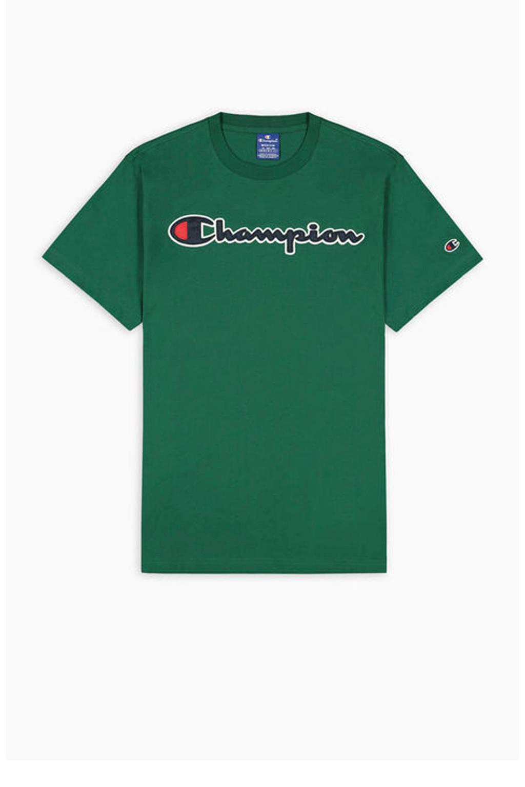 Champion   T-shirt groen, Groen