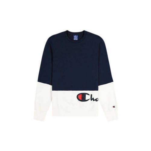 Champion sweater donkerblauw/wit