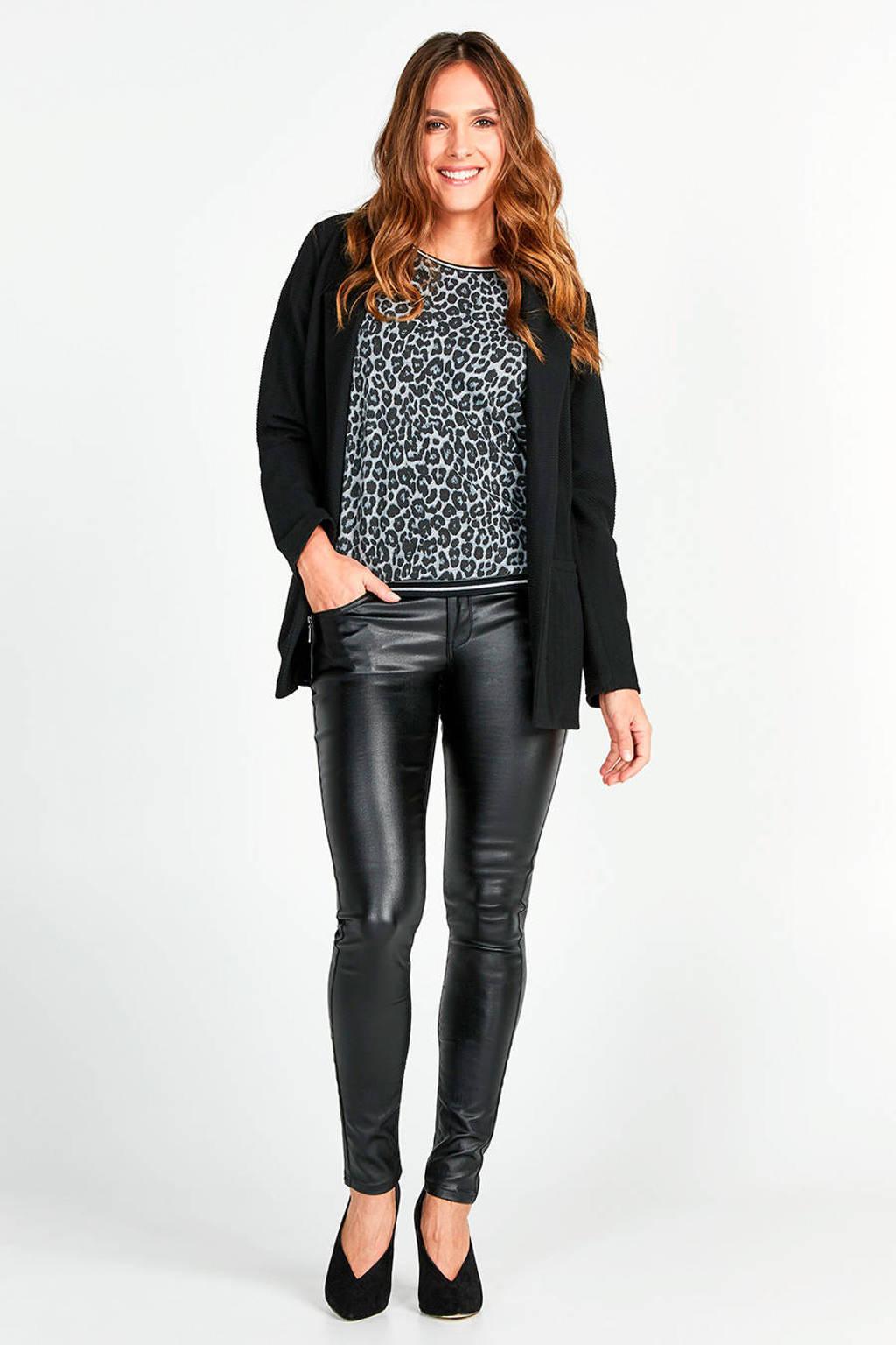 Miss Etam Regulier skinny broek zwart, Zwart