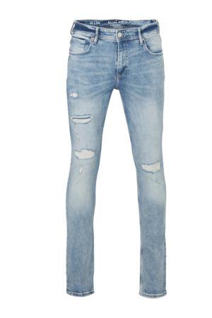 Clockhouse slim fit jeans lichtblauw
