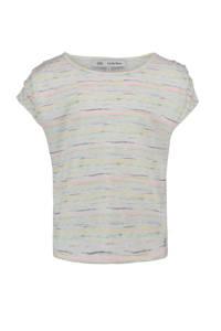 CKS KIDS gemêleerd T-shirt Dalida ecru/multi, Ecru/multi