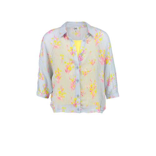 CKS KIDS semi-transparante blouse Alberta met all