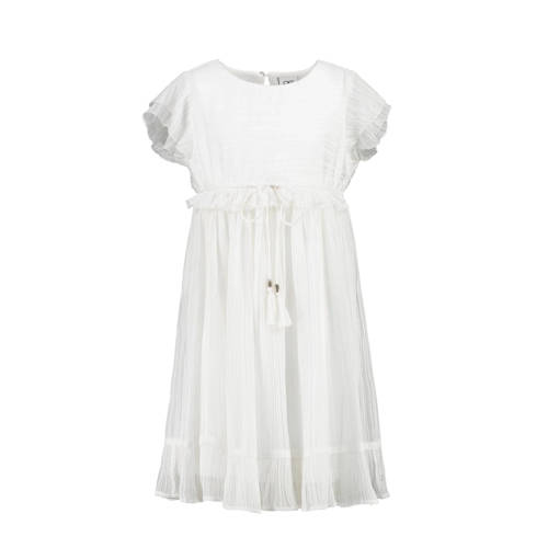 CKS KIDS semi-transparante jurk Abirla met ruches