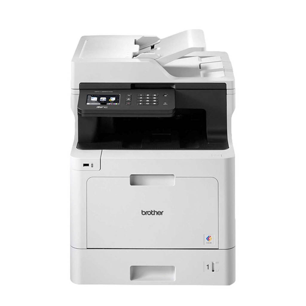 Brother MFC-L8690CDW all-in-one printer, Zwart, zilver