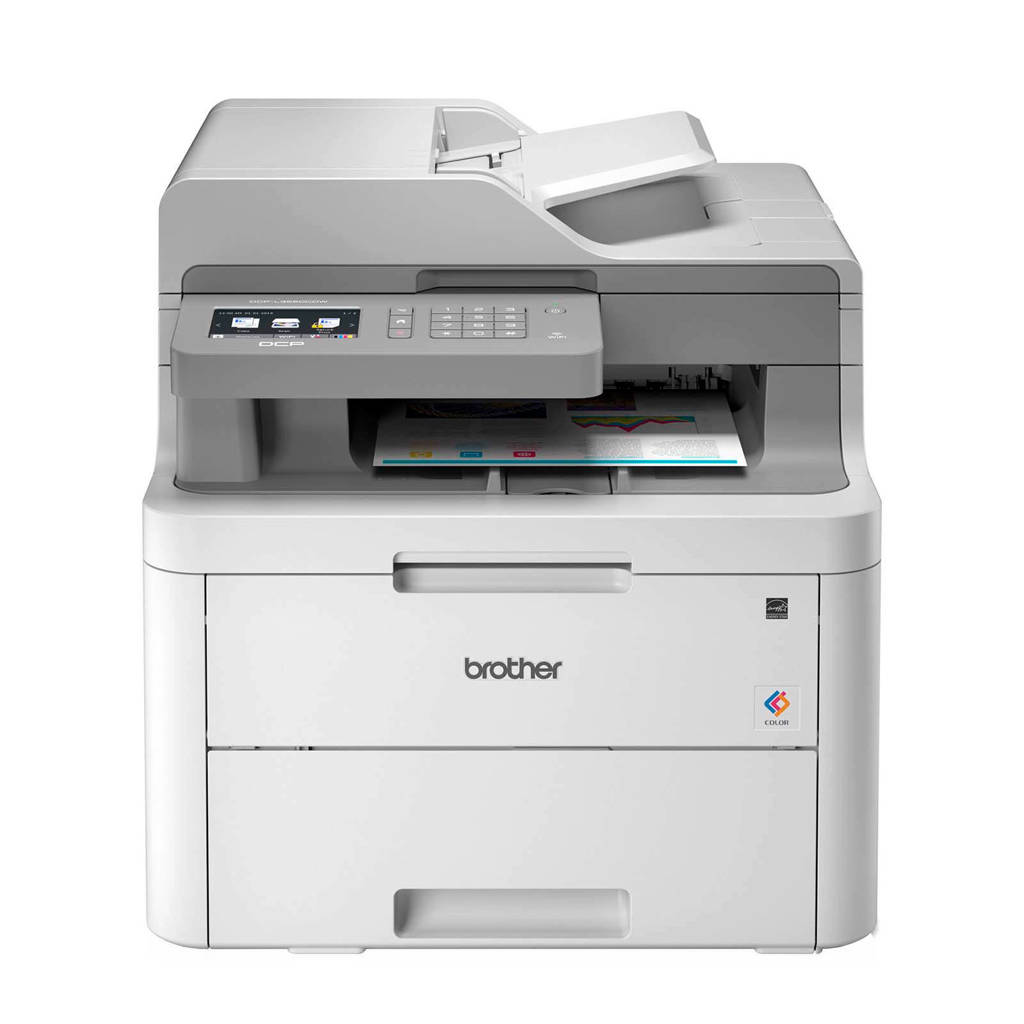 Brother DCP-L3550CDW all-in-one printer, Grijs