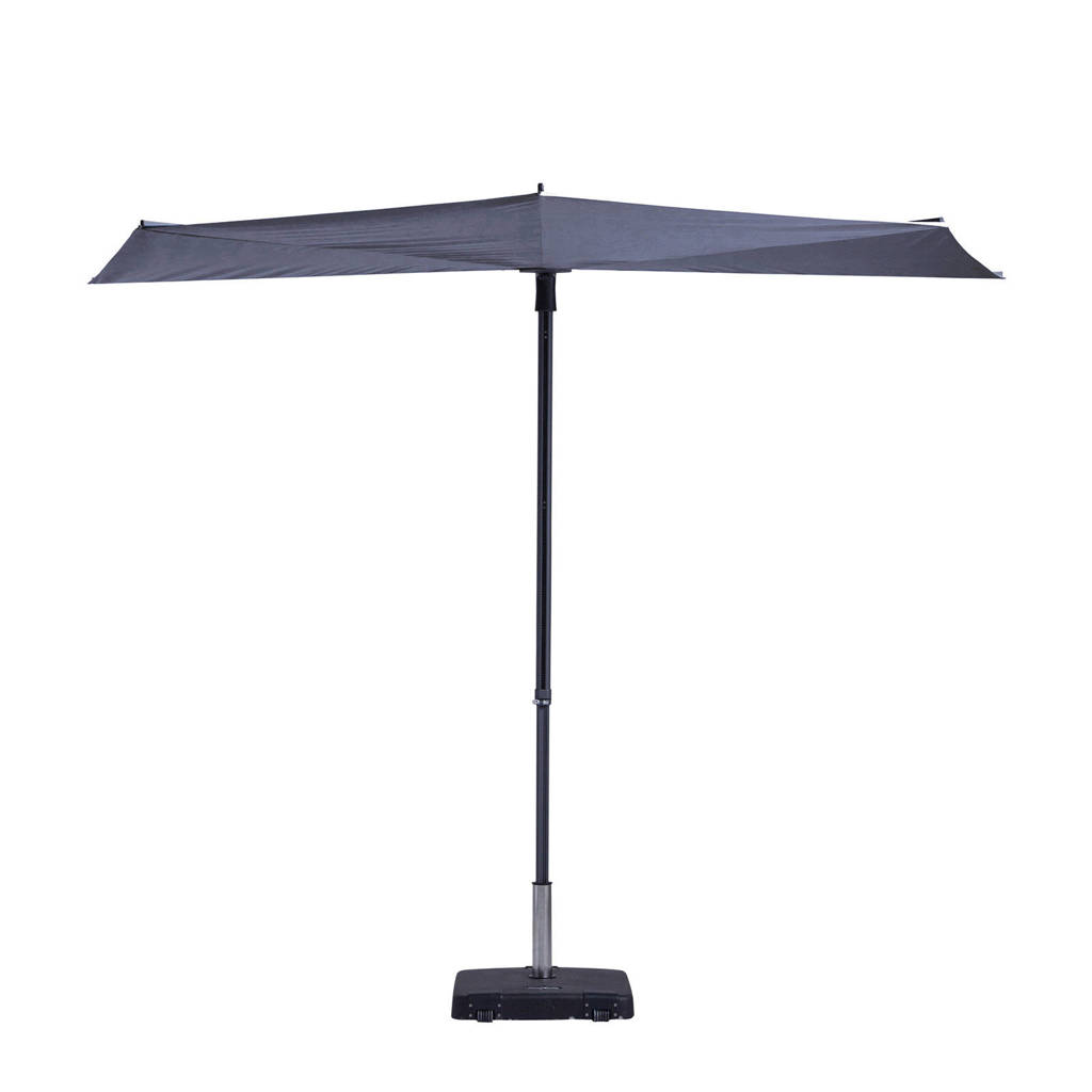 Madison parasol Sun Wave (300x150 cm), Blauw