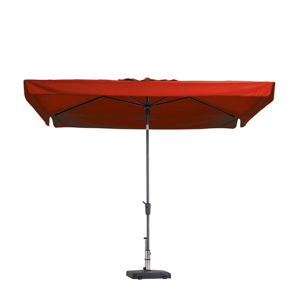 Madison parasol Delos (200x300 cm), Rood