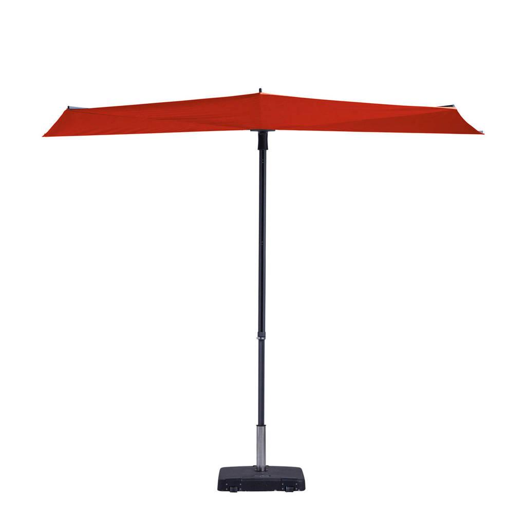 Madison parasol Sun Wave (300x150 cm), Rood