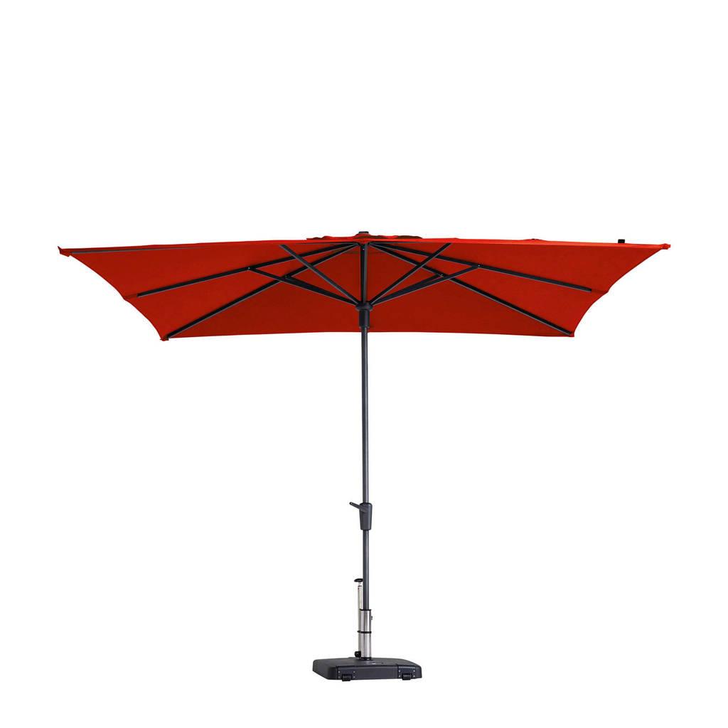Madison parasol Syros (280x280 cm), Rood