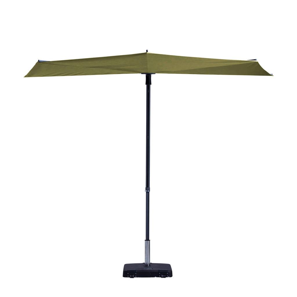 Madison parasol Sun Wave (300x150 cm), Groen