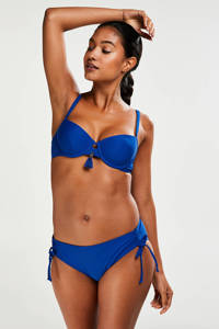 Hunkemöller bikinibroekje Amanda Queen blauw, Blauw