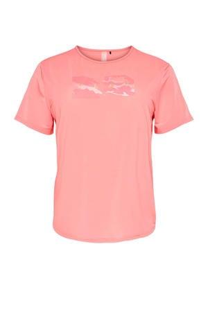 sport T-shirt rosé
