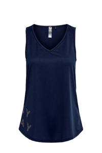 ONLY PLAY sporttop donkerblauw, Donkerblauw