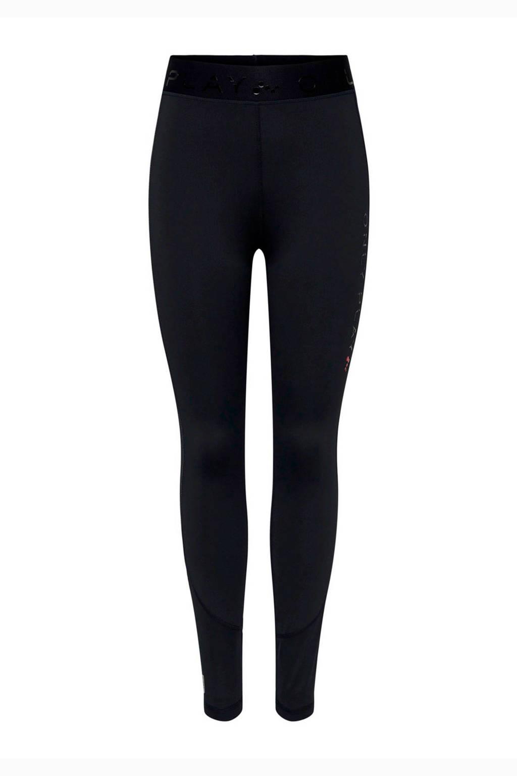 ONLY PLAY high waist sportbroek zwart, Zwart