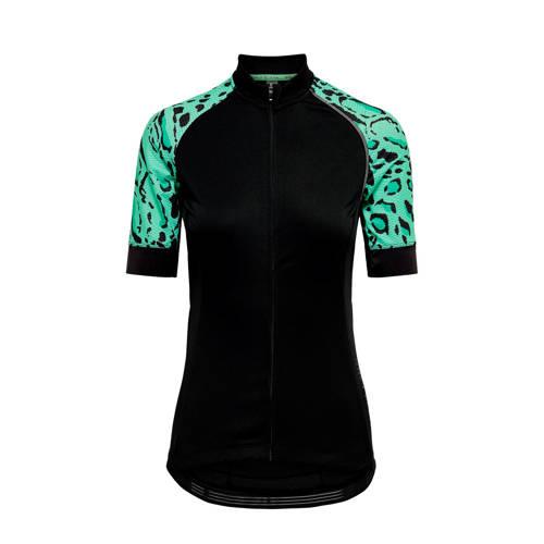 ONLY PLAY fietsshirt zwart/groen