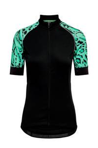 ONLY PLAY fietsshirt zwart/groen, Zwart/groen