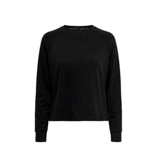ONLY PLAY sportsweater zwart