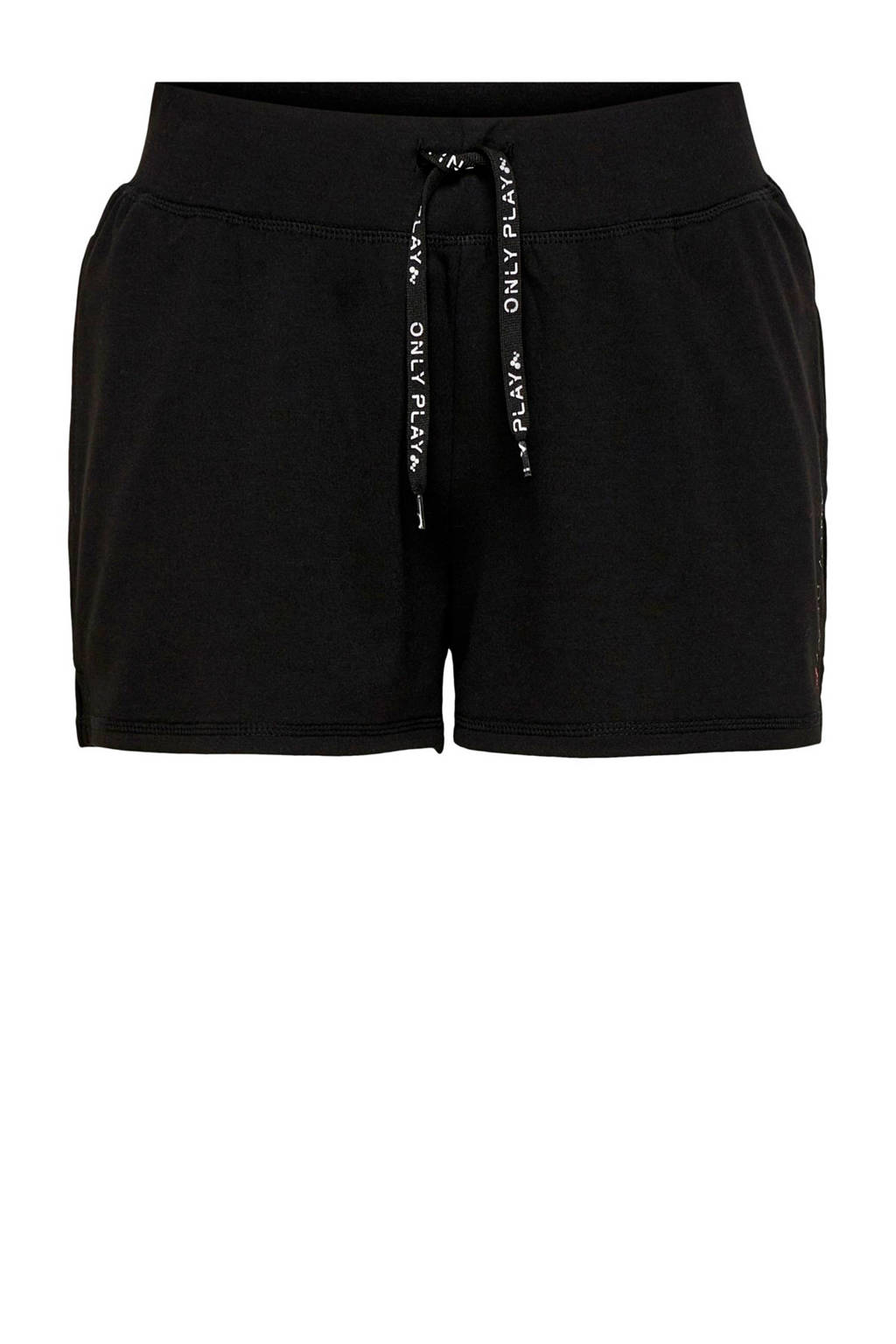 ONLY PLAY sportshort zwart, Zwart