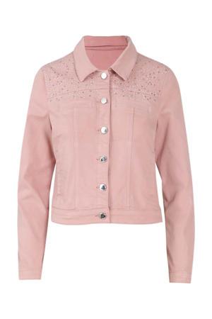 jasje met strass steentjes roze