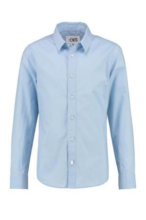 overhemd Botanuni lichtblauw