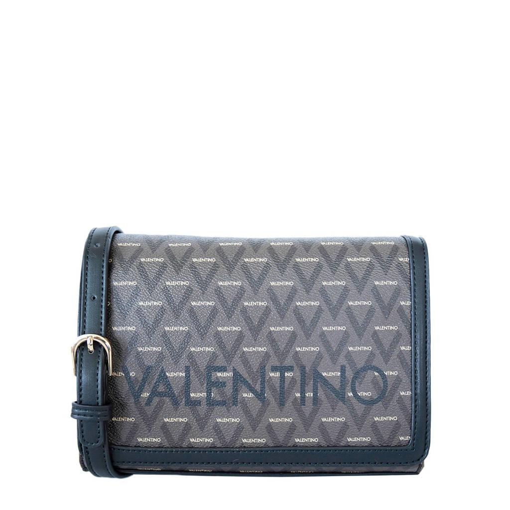 Valentino   crossbody tas zwart, Zwart